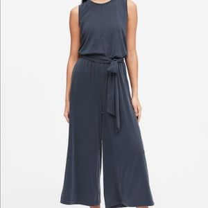 Banana Republic Navy Blue Jumpsuit Size 14 NWT
